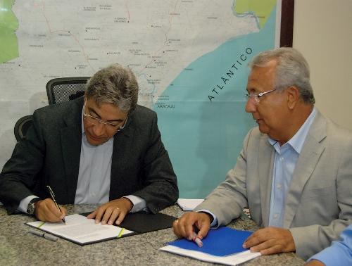 Marcelo Déda transfere cargo de governador ao vice Jackson Barreto