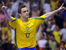 Seleção Brasileira de Futsal chega a Aracaju com o apoio do Governo