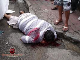 No centro da cidade de Itabaiana ex-presidiário é morto a tiros