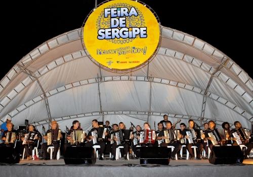 Sena e Orquestra Sanfônica abrem Feira de Sergipe