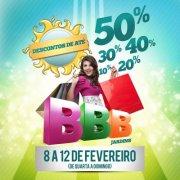 Shopping Jardins promove até domingo o BBB Verão 2012