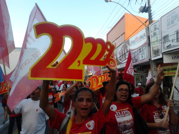 Professores mantêm greve e deliberam agenda de atos públicos