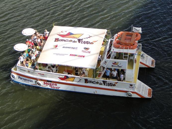 Barco do Forró terá dois roteiros em 2012