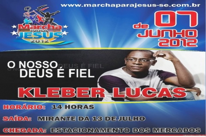Marcha para Jesus acontece hoje em Aracaju