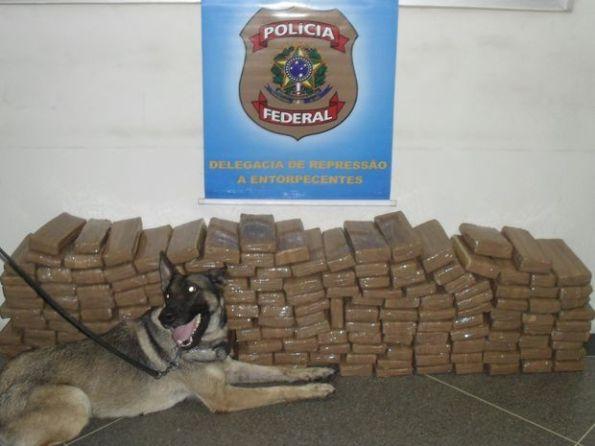Polícia Federal apreende cerca de 1 tonelada de drogas em Sergipe