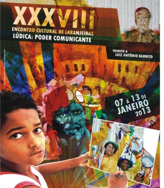 38º Encontro Cultural de Laranjeiras começa nesta segunda-feira