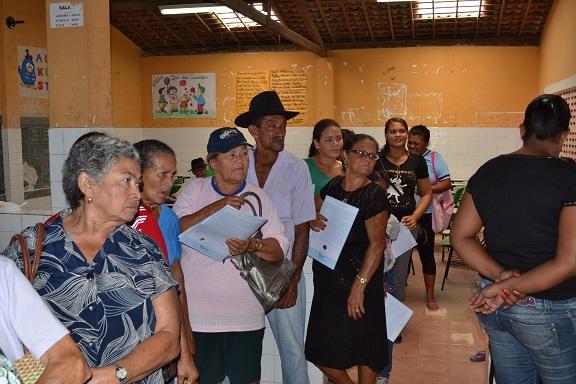 O primeiro Mutirão de glaucoma ocorreu com sucesso no Grupo Escolar João Machado Rollemberg Mendonça.(Foto: T.Dantas Comunicação)