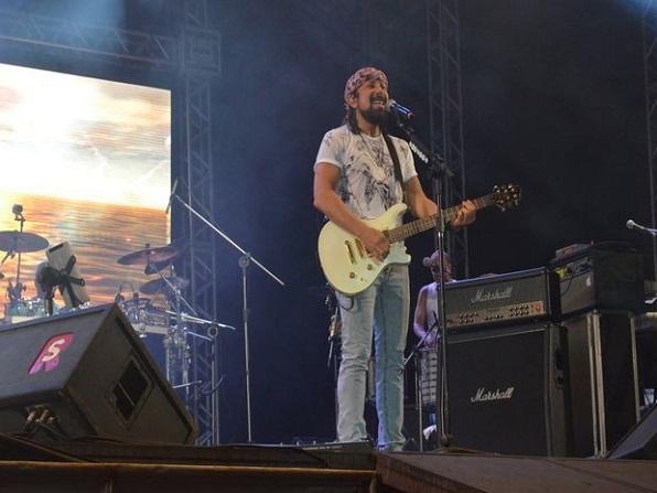 Bell Marques vai se despedir do Chiclete com Banana no Pré-Caju 2014 (Foto: Flávio Antunes/G1)