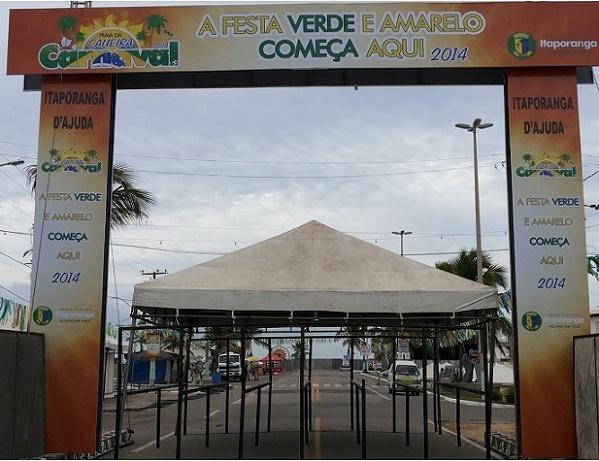 Começa neste sábado o Carnaval Verde e Amarelo da Caueira, que promete ser o melhor e o mais tranquilo de Sergipe