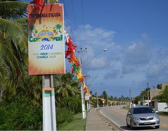 Contagem regressiva para a abertura do Carnaval da Caueira