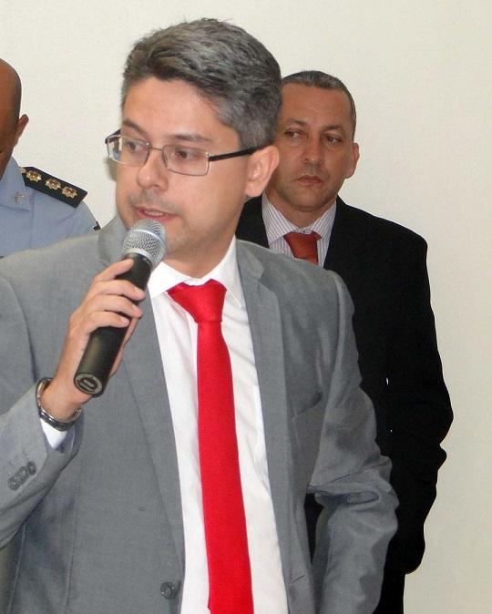 Delegado Alessandro recebe apoio do prefeito de Campo do Brito