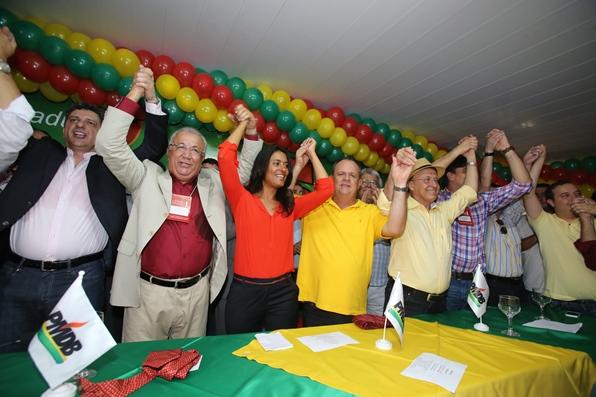 Onze partidos  apoiam à reeleição do governador de Sergipe, Jackson Barreto. (César de Oliveira)