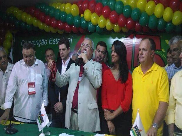 PMDB oficializa candidatura à reeleição de Jackson Barreto