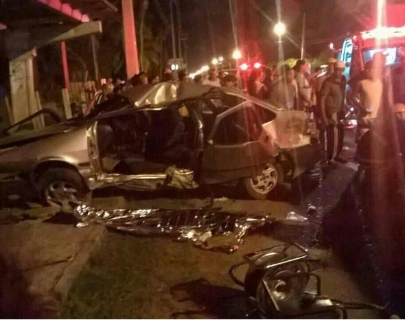 motorista-morre-em-colisao-com-ponto-de-onibus-em-aracaju