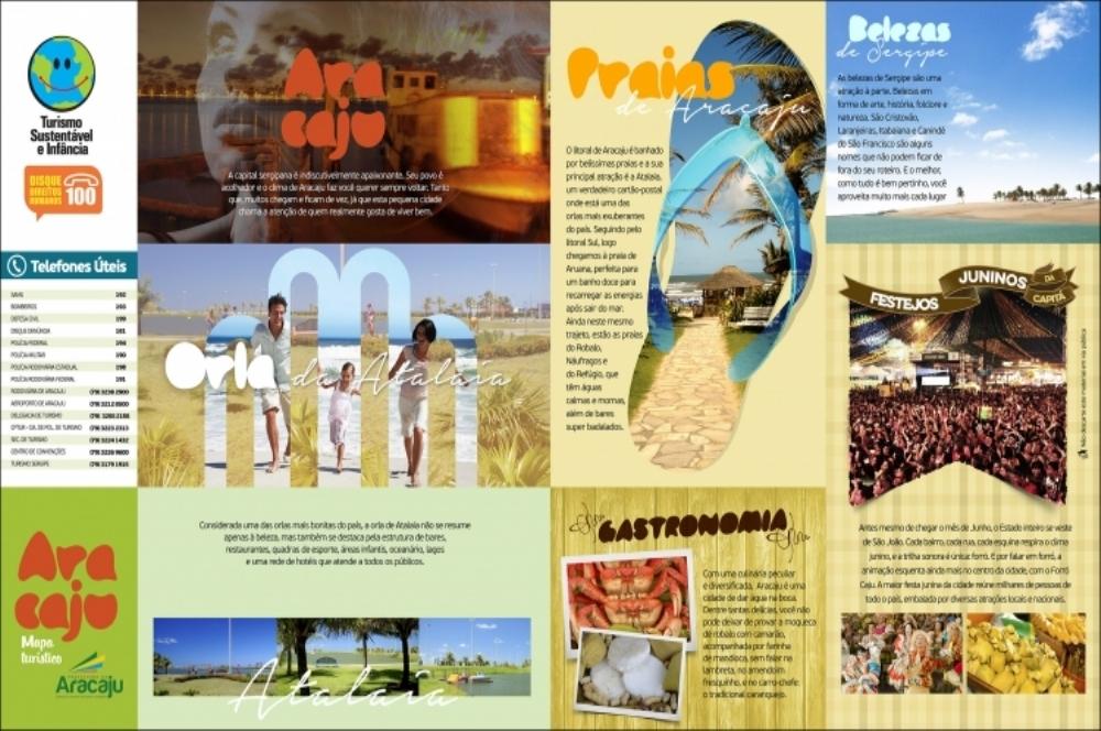 Mapas de Aracaju são entregues à rede hoteleira