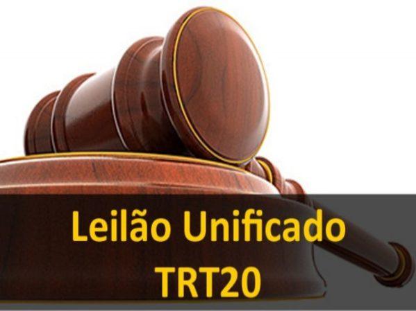 TRT/SE vai leiloar 128 lotes de bens móveis e imóveis