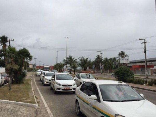 Sindicato dos taxistas  de Aracaju diz que Uber compromete sobrevivência dos taxistas