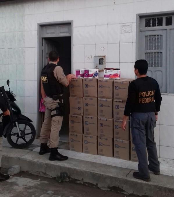 PF e PRF deflagram operação 'Subida da Torre'(Foto: Divulgação/PRF/SE)
