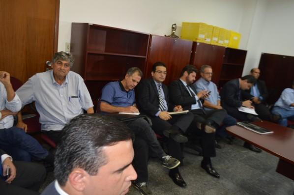Victor Mandarino participou da audiência aconteceu esta tarde na Justiça Federal