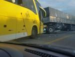 Acidente deixou 33 feridos em Cedro de São João. (Foto: WhatSapp/SENotícia