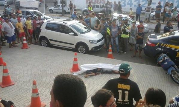 Homem trocou tiros com agentes da PRF. (Foto: Itnet)