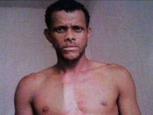 Polícia divulgou imagem do suspeito do crime (Foto: Divulgação / Polícia Civil)