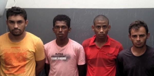 Polícia prende sete pessoas suspeitas de tráfico, roubos e estelionato em Canindé