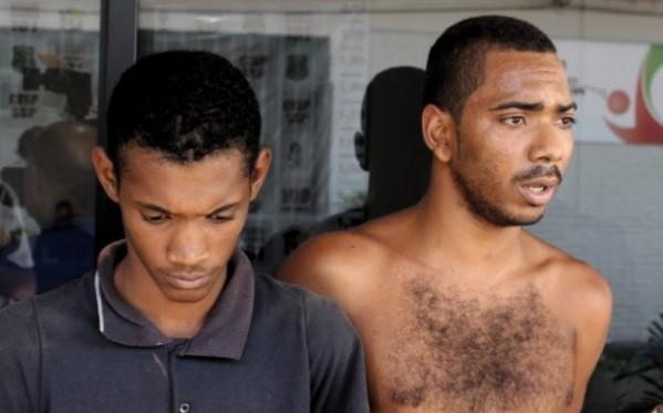 Polícia apresenta suspeitos por homicídio de empresário em Tobias Barreto