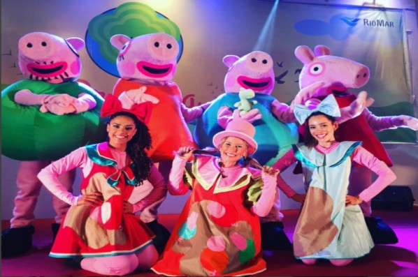 Pracinha RioMar vai receber Peppa Pig e Toy Story