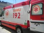 Ainda desacordadas, as vítimas foram encaminhadas ao Hospital de Urgência de Sergipe. (Foto: reprodução/Samu/DF)