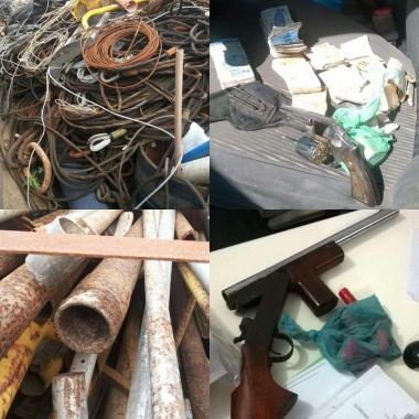 Polícia Civil realiza busca e apreensão em empresas suspeitas de adquirir material furtado da Petrobrás