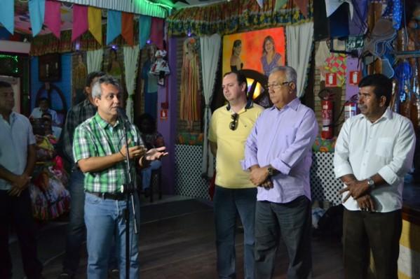 Em Aracaju, Arraiá do Povo é lançado com muito forró pé-de- serra