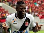 Riascos brilhou na vitória do Vasco sobre o Flamengo Foto: Carlos Gregório Junior / Vasco.com.br / Divulgação