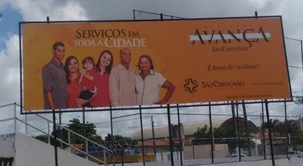 São Cristóvão:  leitor denuncia que prefeitura faz 'propaganda enganosa'