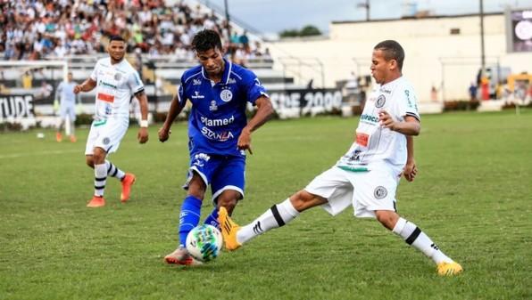 Betinho se anima com rendimento do Confiança contra o ASA pela Série C.