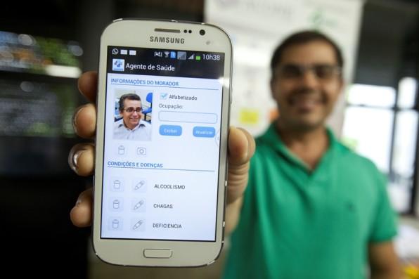 Fapitec financia aplicativo que permite marcação de consultas online por agentes de saúde.