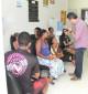 Prefeito conversa com pacientes e assegura que a saúde é prioridade em Laranjeiras