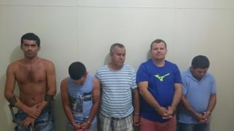 Suspeitos de integrar organização criminosa são presos por tráfico de drogas em Aracaju, Lagarto e Itabaiana. (Foto: SSP/SE)