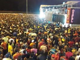 Com muito forró, a festa junina aconteceu no domingo, dia 26 de junho, na Praça de Eventos da cidade. (Foto: SE Notícias)