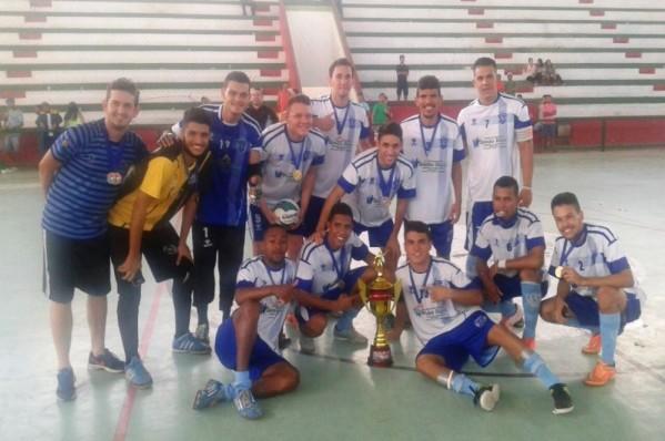 Simão Dias: campeão (Foto: FSFS)