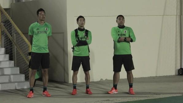Olho aberto: seleção japonesa assiste aos minutos finais de Confiança x ASA