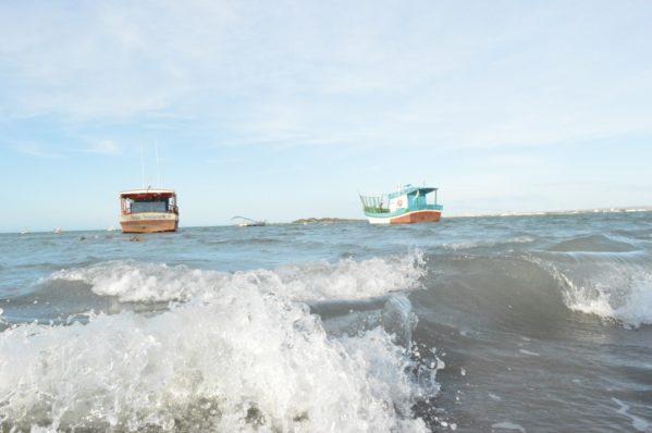 Previsão é de ondas de até 3,5 metros. (Foto: arquivo/ SE Notícias)