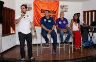 Edvaldo e Eliane recebem apoio de esportistas de Aracaju