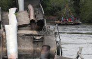 Obras de construção de ponte definitiva de Pedra Branca estão em andamento