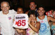 Ibope, votos válidos: Edvaldo tem 45%, Valadares 31%, e João, 11 %