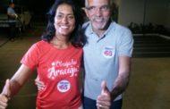Edvaldo Nogueira e Eliane Aquino serão diplomados nesta 5ª