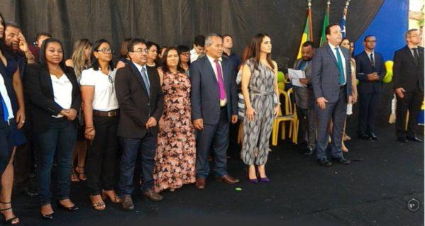 Lara Moura foi empossada no último domingo. (Foto: ascom/Lara)