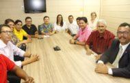 Conselheira Susana Azevedo recebe vereadores de Itaporanga