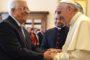 Papa receberá líder palestino Mahmoud Abbas no sábado