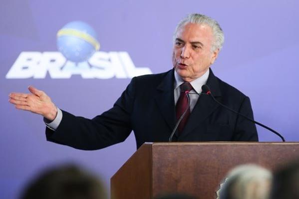 Presidente Michel Temer  (Foto: Francisco Beto Barata/PR)